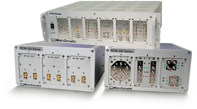 Mini-Circuits Rack Mounted Test Systems
